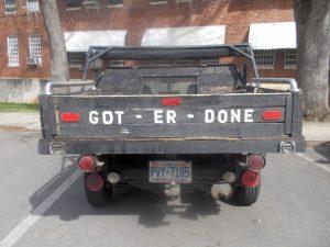 Got Er Done Truck